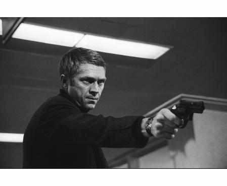 Bullit Steve MacQueen 1968 © Barry Feinstein