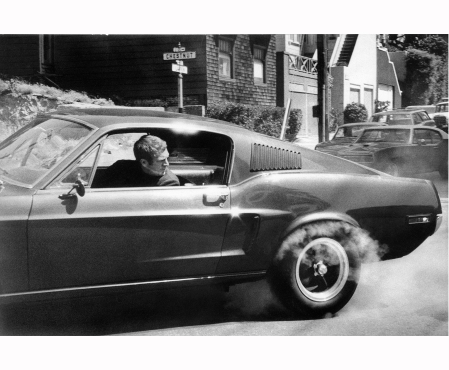Bullitt Steve MacQueen 1968 © Barry Feinstein c