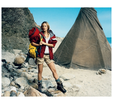 Carolyn Murphy %22out of the wilderness%22 Vogue, November 2009 Photo Norman Jean Roy