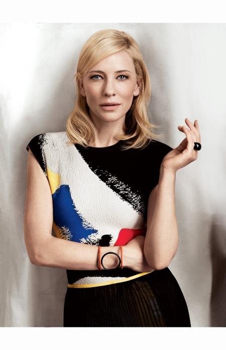 Cate Blanchett Vogue, January 2014 © Craig McDean