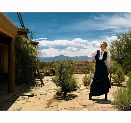 Charlize Theron  Vogue, October 2007 b