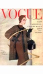 Cherry Nelms Wearing a Black Grosgrain Tweed Three-Quarter Coat sept 1953 cover