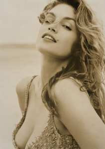Cindy Crawford - Pirelli Calendar 1994, photographed by Herb Ritts