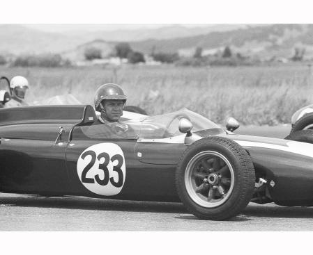 Course Steve MacQueen 1960 © Barry Feinstein