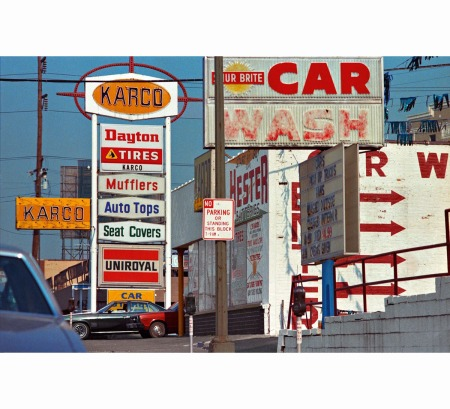 Democratic Forest © William Eggleston b car