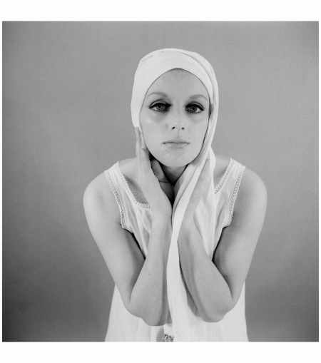 Fashion model Anna Beeke (1964-1969) Photo Hans Pelgrom