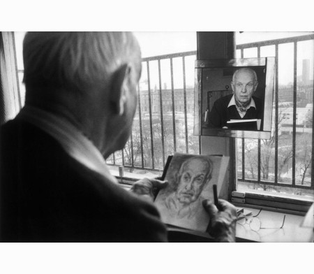 French photographer Henri Cartier-Bresson, 1992