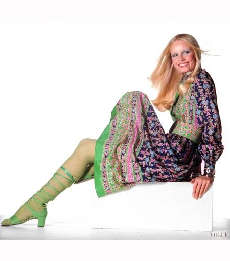 Gunilla Lindblad Vogue feb 1971 Irving Penn