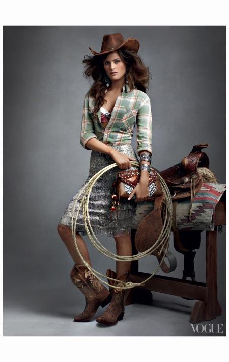Isabeli Fontana America the Beautiful Vogue, June 2011 © Craig Mc Dean