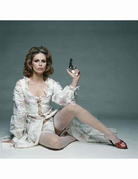Joanna Lumley stars as Purdey in 'The New Avengers', circa 1977 © Terry O'Neill
