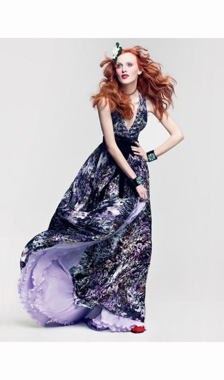 Karen Elson America the Beautiful Vogue, June 2011 © Craig Mc Dean b
