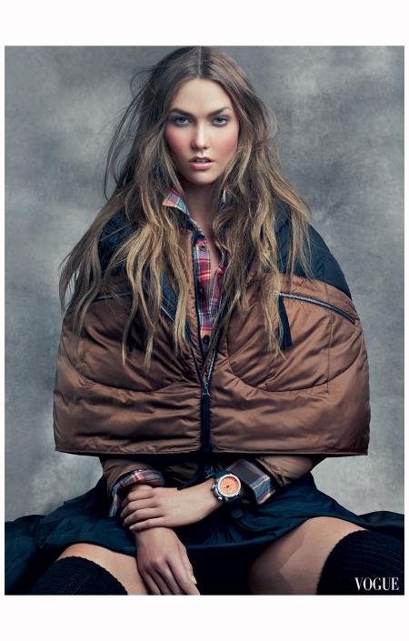 Karlie Kloss America the Beautiful Vogue, June 2011 © Craig Mc Dean