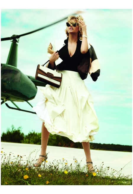 Kate Upton Mario Testino, Vogue, June 2013