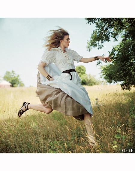 Keira Knightley 2007 - Photo Arthur Elgort