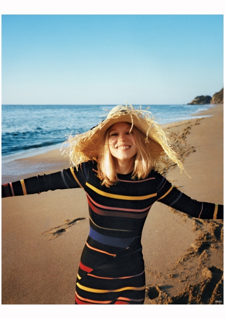 Lea Seydoux at Villa Paraiso and Punta Sayulita Nayarit Mexico Photo Angelo Pennetta vogue 2015 e