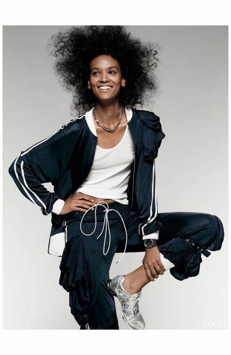 Lya Kebede Tom Munro Vogue 2004