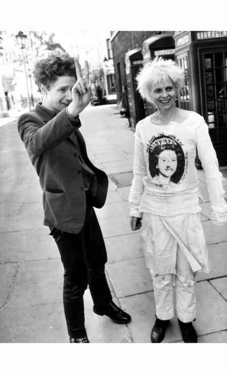 Malcom McLaren and Vivienne Westwood, London, June 1977