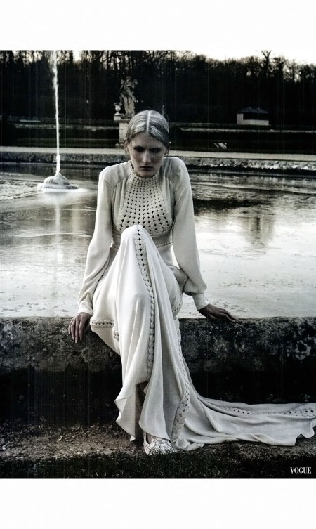 Marie Piovesan Valentino Haute Couture S:S 2012 Vogue Italia March 2012