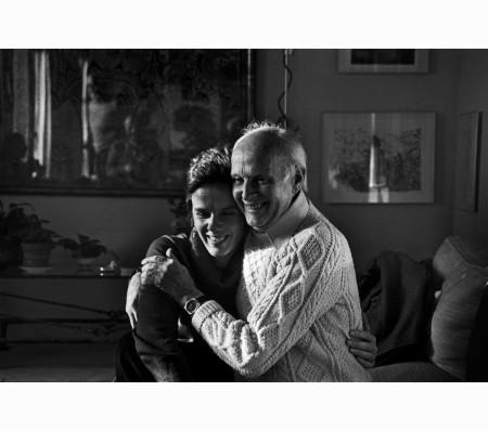 Martine Franck and Henri Cartier-Bresson at home in Paris, Nov. 16, 1980 André Kertész