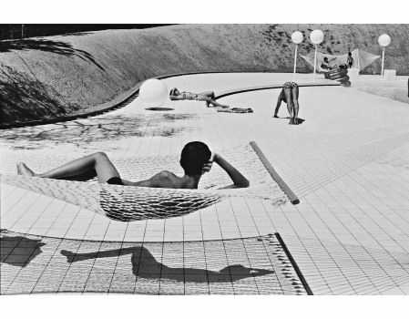 Martine Franck la hamac 1976