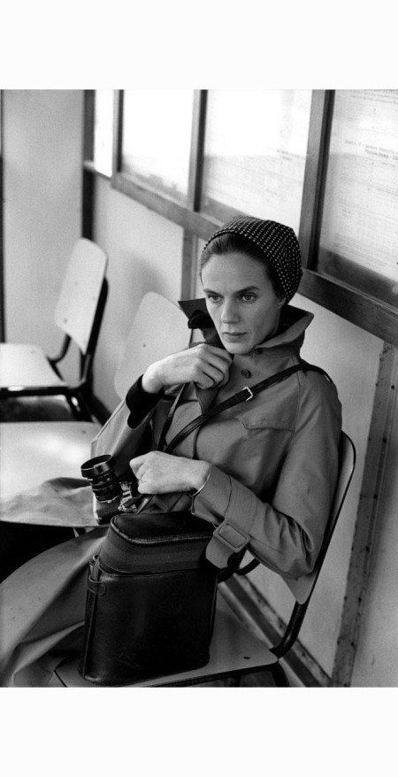 Martine Franck photographed by Henri Cartier-Bresson, 1972