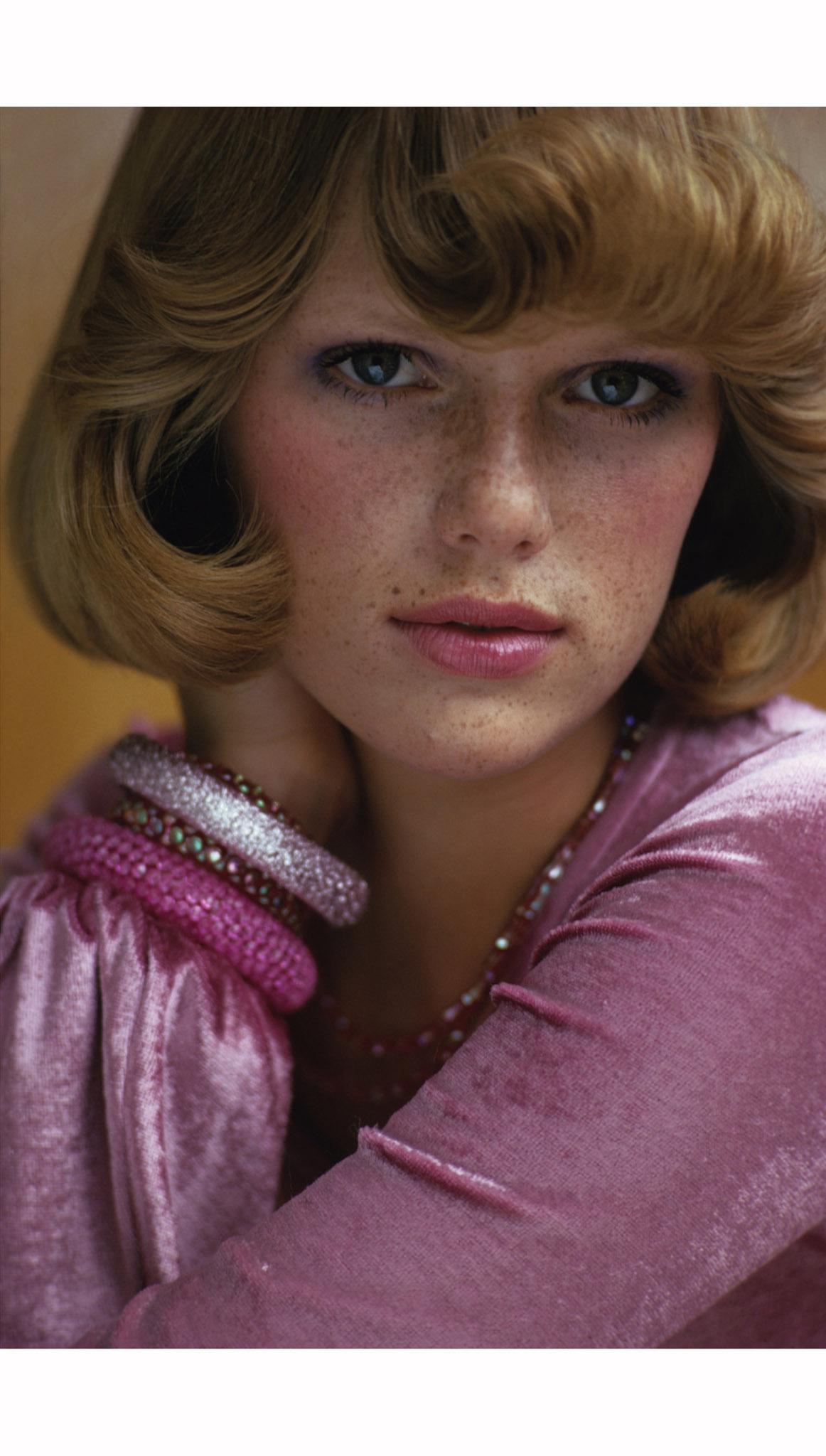 Model Patti Hansen Wearing