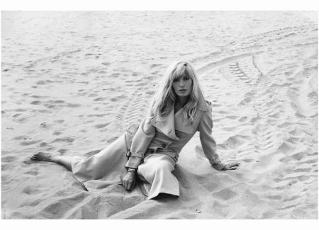 Monica Vitti  oct 1971. Photo Rastellini