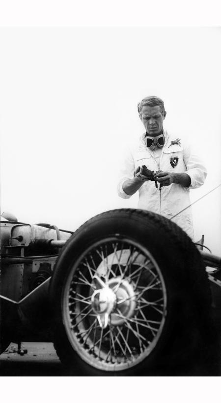 Moteur Steve MacQueen 1960 © Barry Feinstein