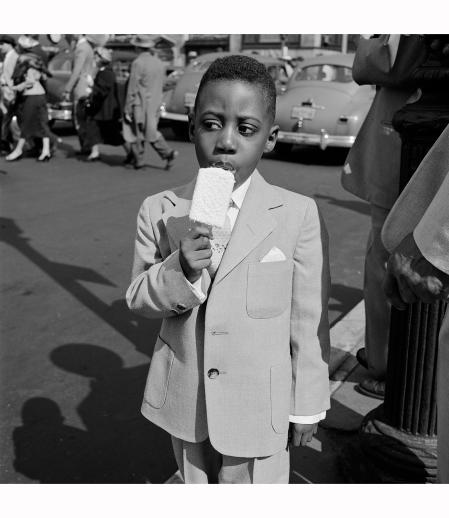 New-York april 1955 Vivian Maier