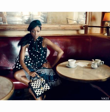 Nyasha Metonhodze -chanel Norman Jay Roy vogue 2011
