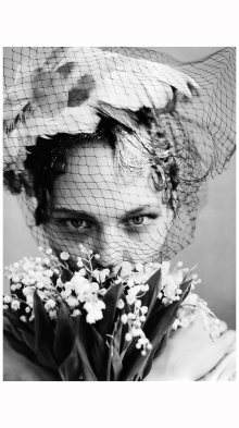 Photo Arthur Elgort Sasha Pivovarova vogue us june 2009 the wedding party