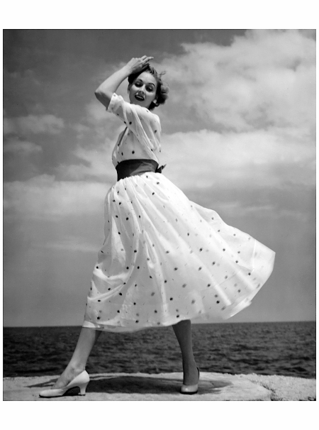 "Polka Dots on the Lake"" 1950's - Photo by Kenneth Heilbron"