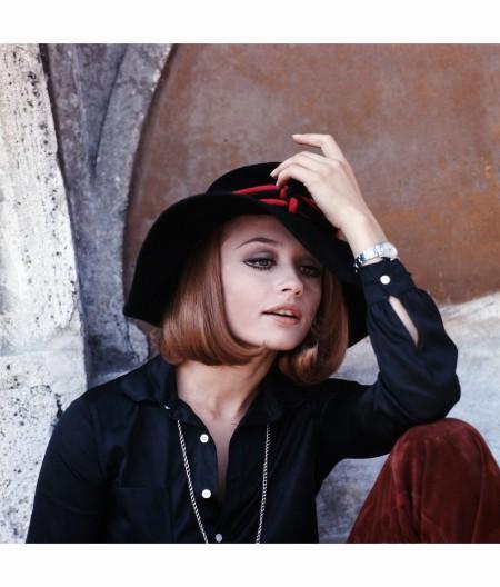 Raffaella Carrà Wearing a Hat 1970's Marisa Rastellini b
