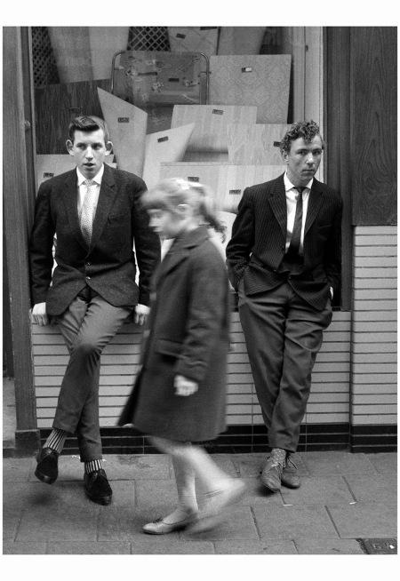 Rowdy at the Nieuwendijk, Amsterdam (1960-1961) Photo Hans Pelgrom