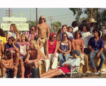 Skate Contest Spectators-1975 Hugh Holland