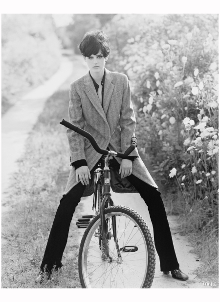 Stella Tennant Vogue, October 1995 Arthur Elgort