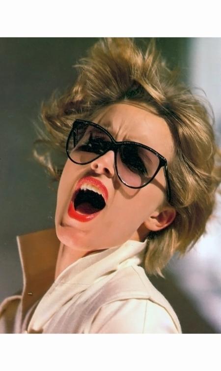 Susan Hess - Laura Biagiotti ads Vogue Italia 1980 © Arthur Elgort b