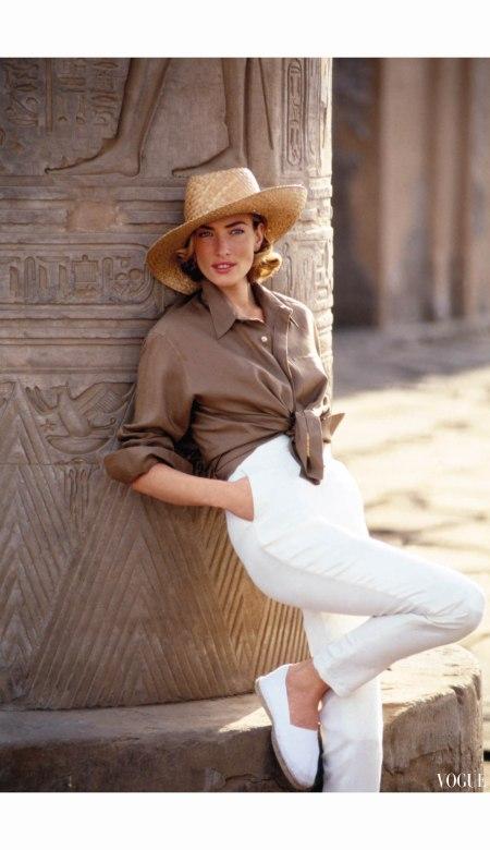 Tatjana Patatz %22Easy Pieces of the Great Escapes%22 Vogue April 1992  © Patrick Demarchelier a