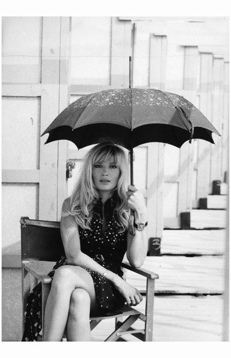Monica Vitti en octobre 1971. Photo Rastellini.