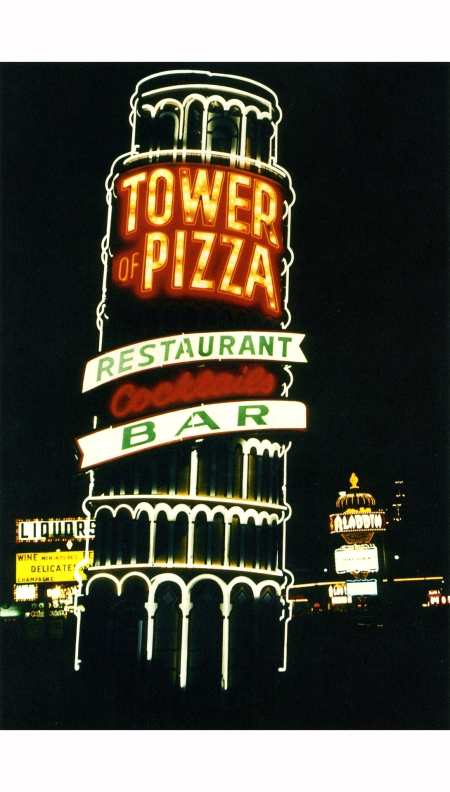 Tower of Pizza. Las Vegas Strip, 1968 Robert Venturi & Denise Scott Brown.