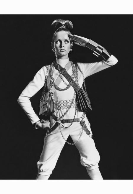 Twiggy - from %22Winding Up On Twiggy%22 US Vogue November 1967 Bert Stern