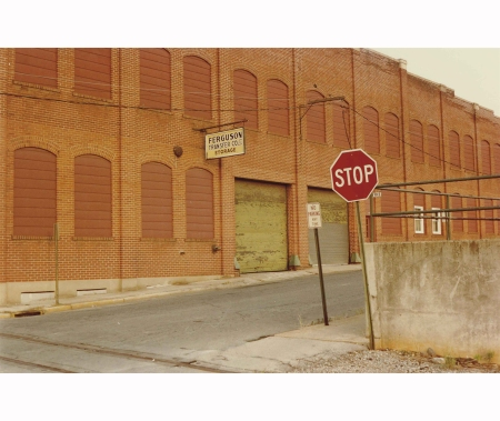 Untitled (Stop sign), 1980s