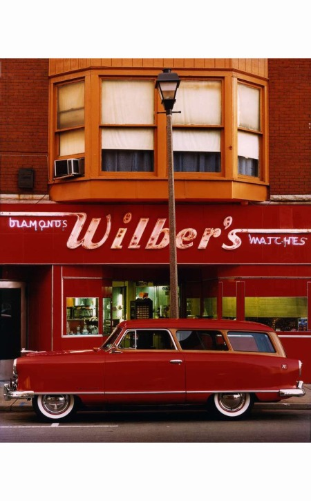 Wilber's Diamonds & Watches A Nash Rambler station wagon