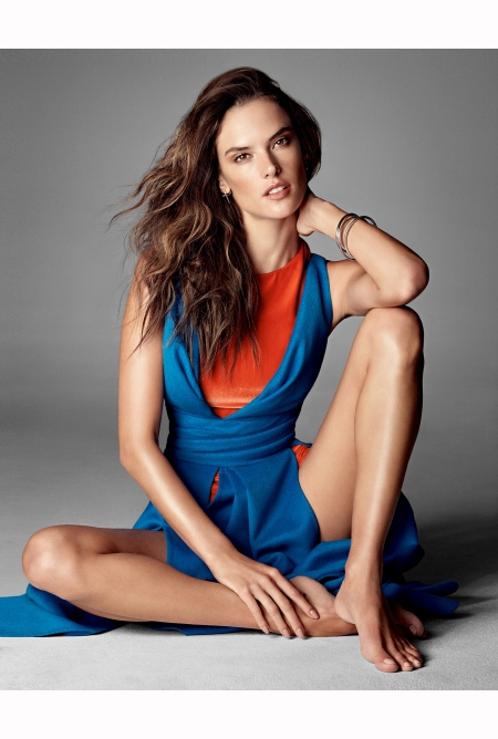 Alessandra Ambrosio Vogue 2014 © Alexi Lubomirski