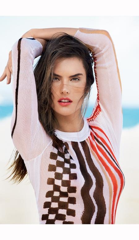 Alessandra Ambrosio Vogue Brazil 2015 Patrick Demarchelier b