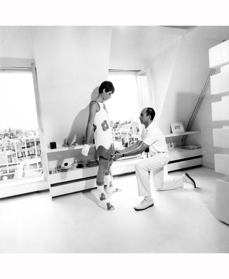 Andre Courreges Paris Aug - 1967
