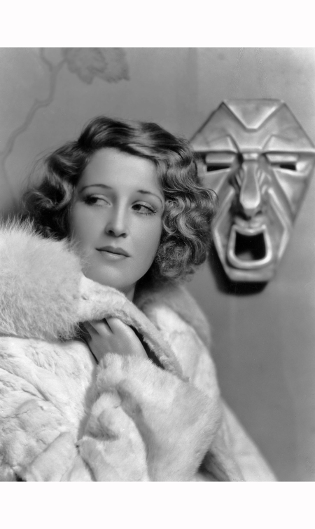 British actress Betty Stockfield (1905-1966) wearing a fur coat 1931 Sasha:Getty Images