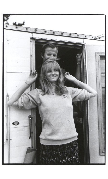 Cheryl Tiegs and Peter Beard 1981