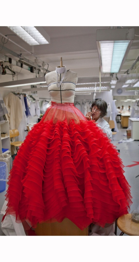 Christian Dior, Haute Couture Spring 2012 Preview, Photo by Kevin Tachman