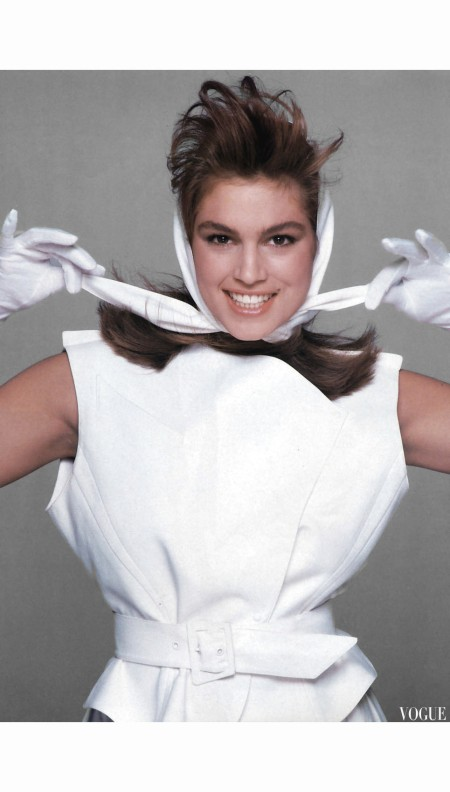 Cindy Crawford %22La Mode Bogue%22 Vogue Paris February 1987 © Bill King b